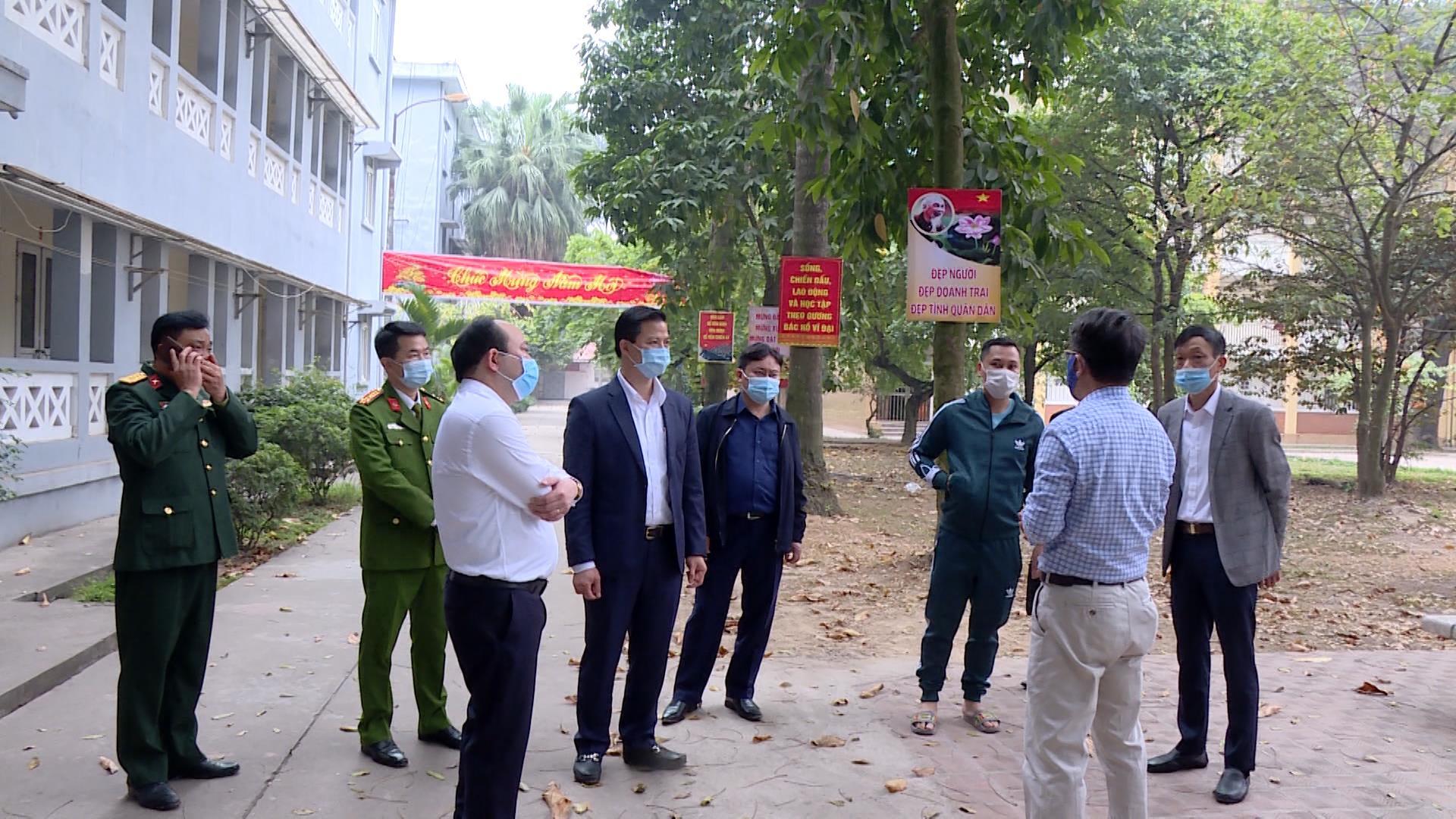 Phó Chủ tịch Thường trực UBND tỉnh kiểm tra công tác chuẩn bị  phát động Tết trồng cây xuân Tân Sửu 2021