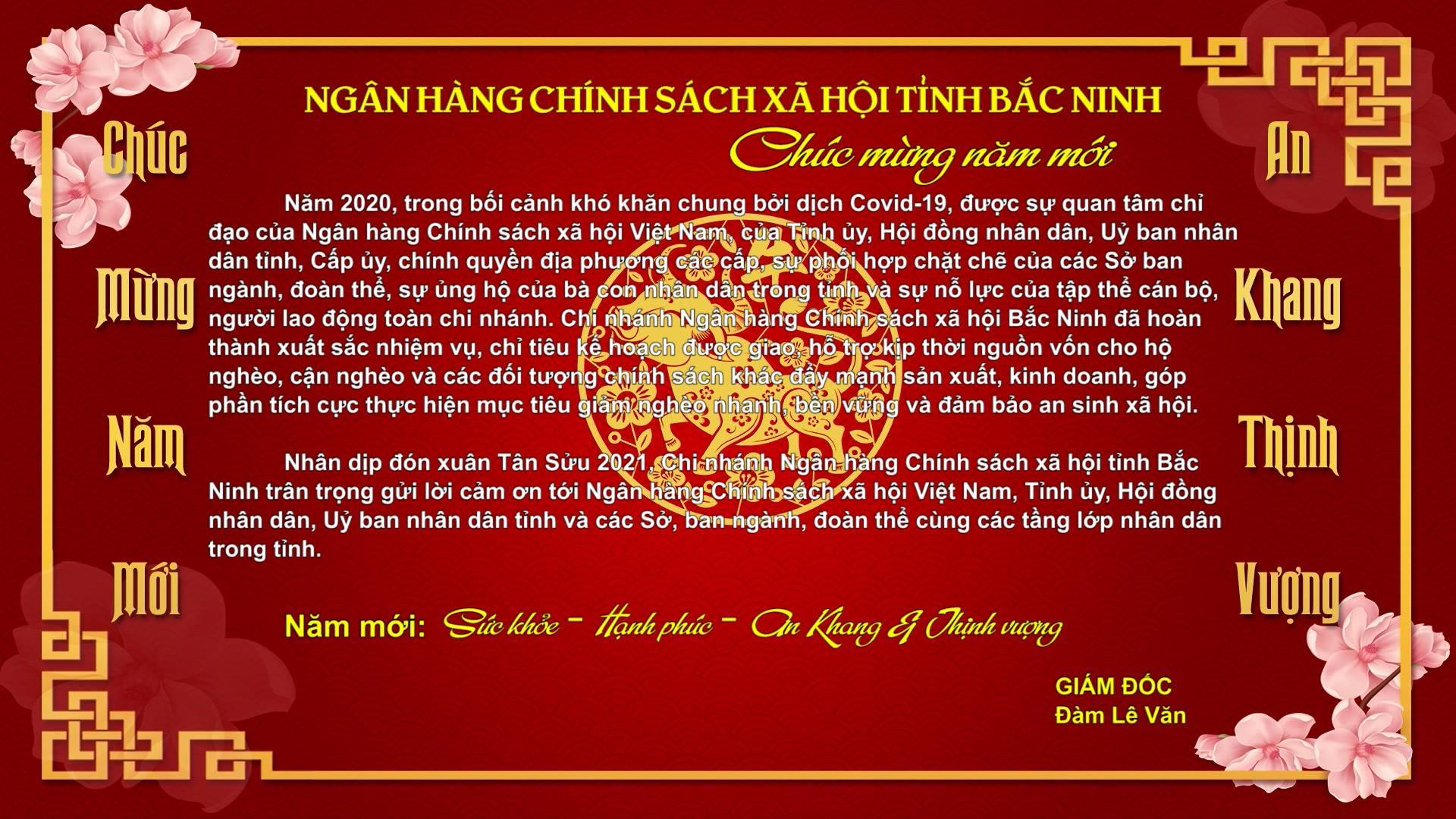 Ngân hàng Chính sách xã hội tỉnh Bắc Ninh