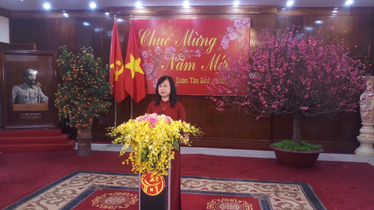 Thư chúc Tết của  Ủy viên BCH Trung ương Đảng, Bí thư Tỉnh ủy Đào Hồng Lan