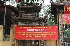 Thành phố Bắc Ninh đóng cửa nhiều di tích nhằm chống dịch Covid - 19