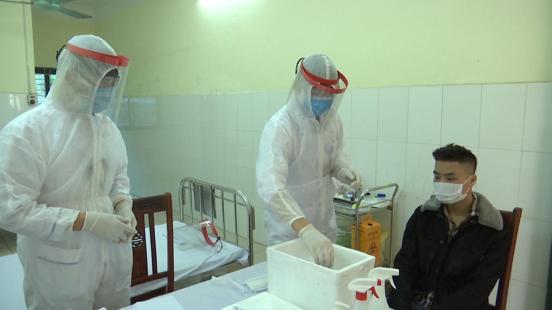 Bệnh viện Quân y 110 xét nghiệm Sars – Cov – 2 theo yêu cầu