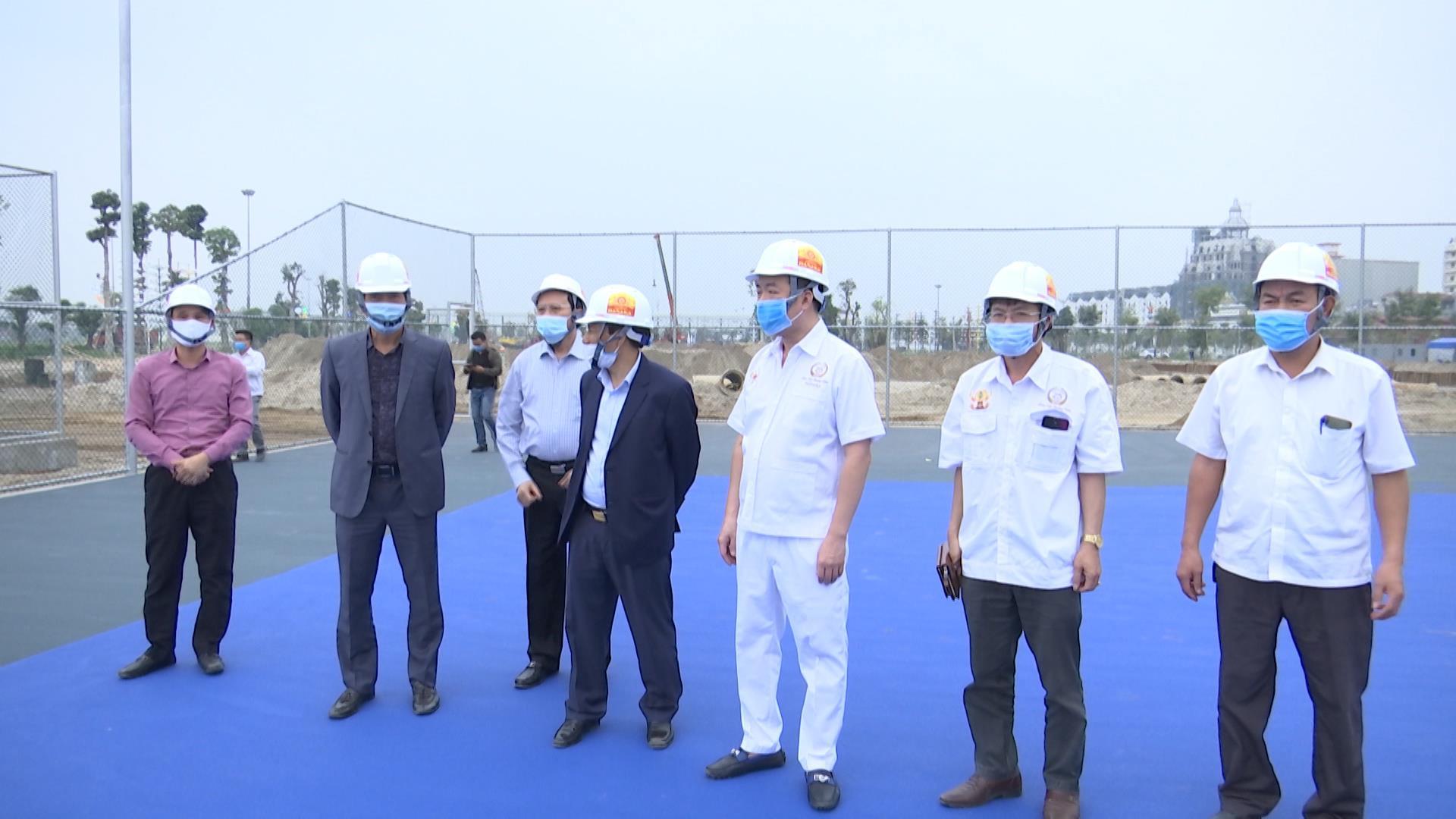 Bộ Văn hóa Thể thao & Du lịch thăm và khảo sát công trình phục vụ thi đấu Seagame 31 tại Bắc Ninh