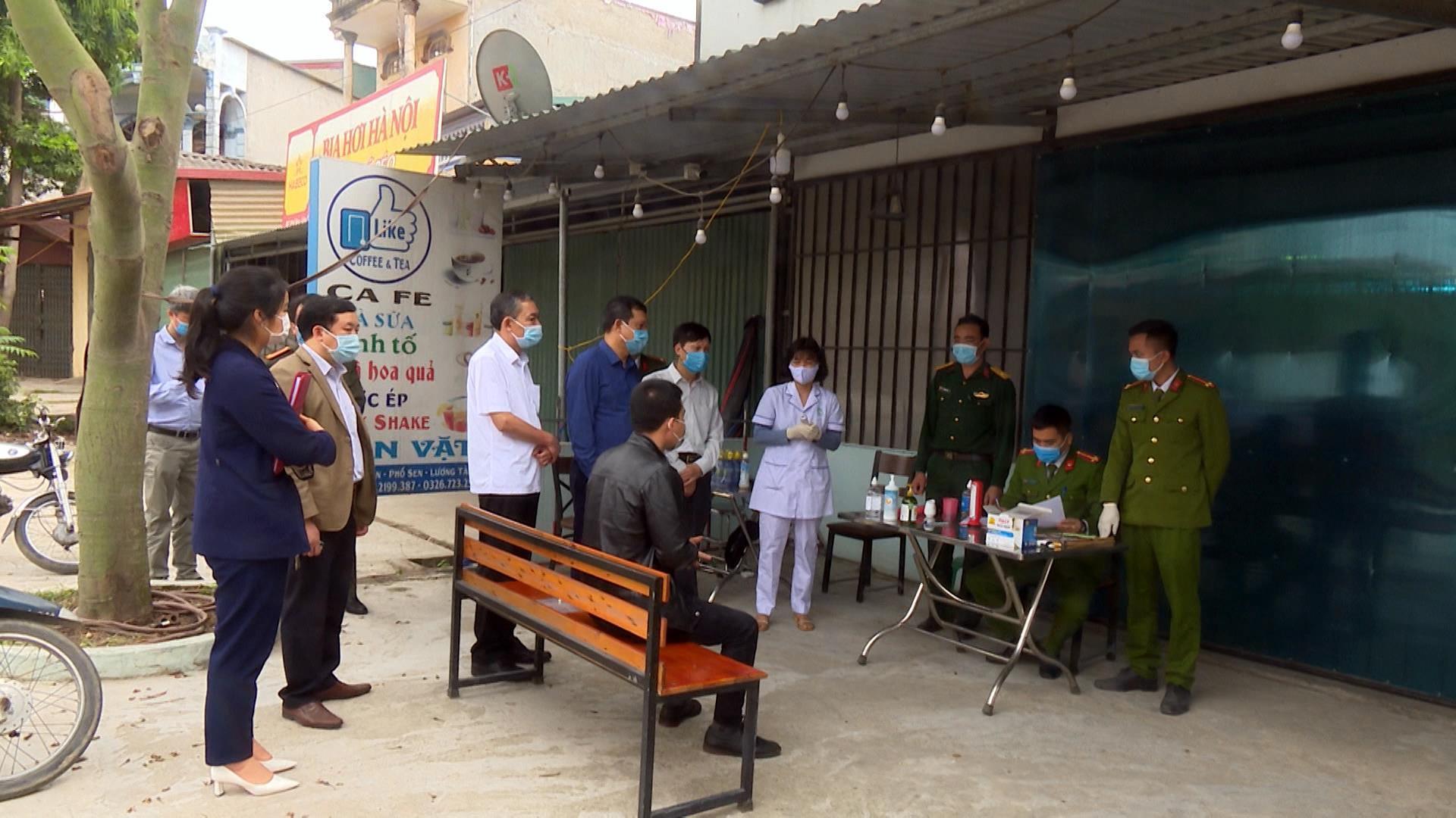 Sở Y tế kiểm tra công tác phòng, chống dịch sau khi  kết thúc thời gian phong tỏa và giãn cách xã hội