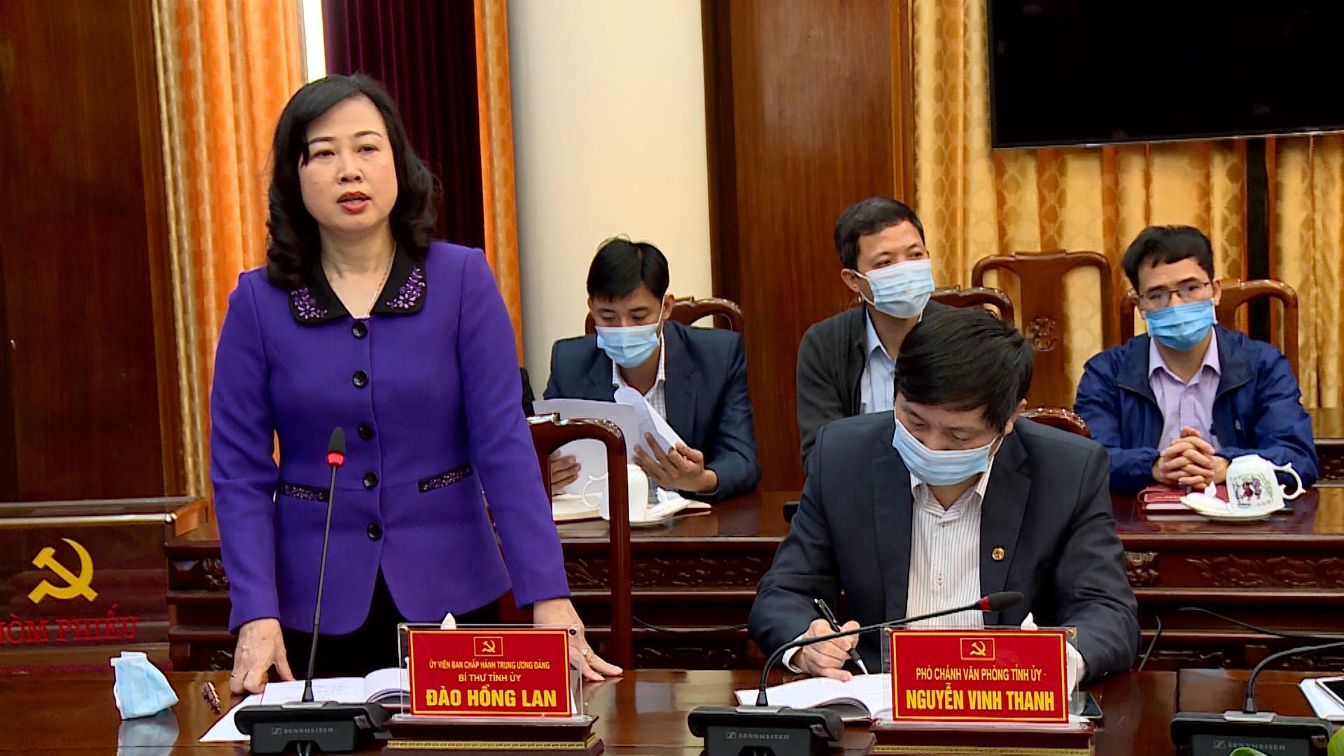 Hội nghị giới thiệu người ứng cử đại biểu Quốc hội và đại biểu HĐND tỉnh  nhiệm kỳ 2021 – 2026