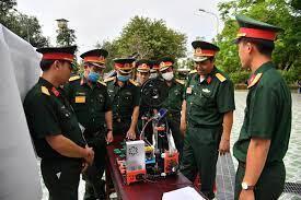 Bộ CHQS tỉnh tổ chức Hội thi sáng kiến, cải tiến mô hình học cụ huấn luyện năm 2021