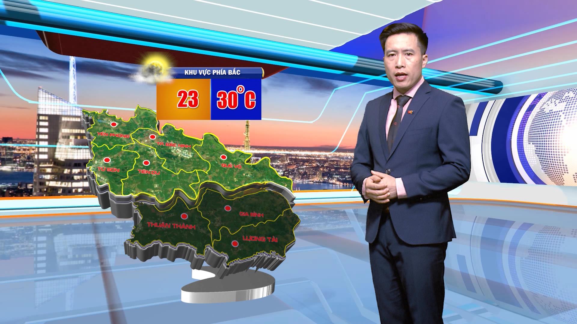 Thời tiết 29-3-2021