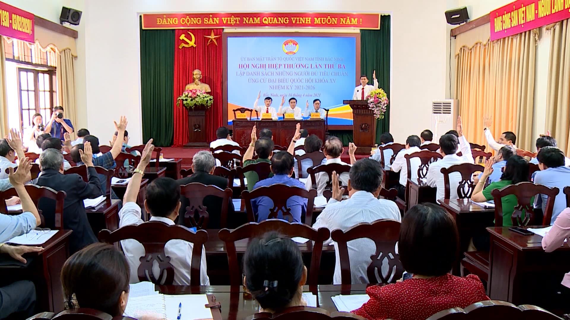 Tỉnh Bắc Ninh tổ chức Hội nghị Hiệp thương lần ba