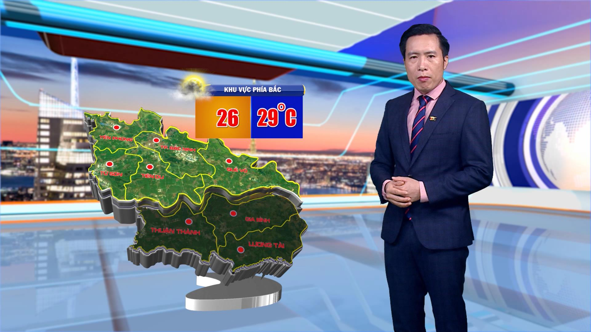 Thời tiết 25-4-2021
