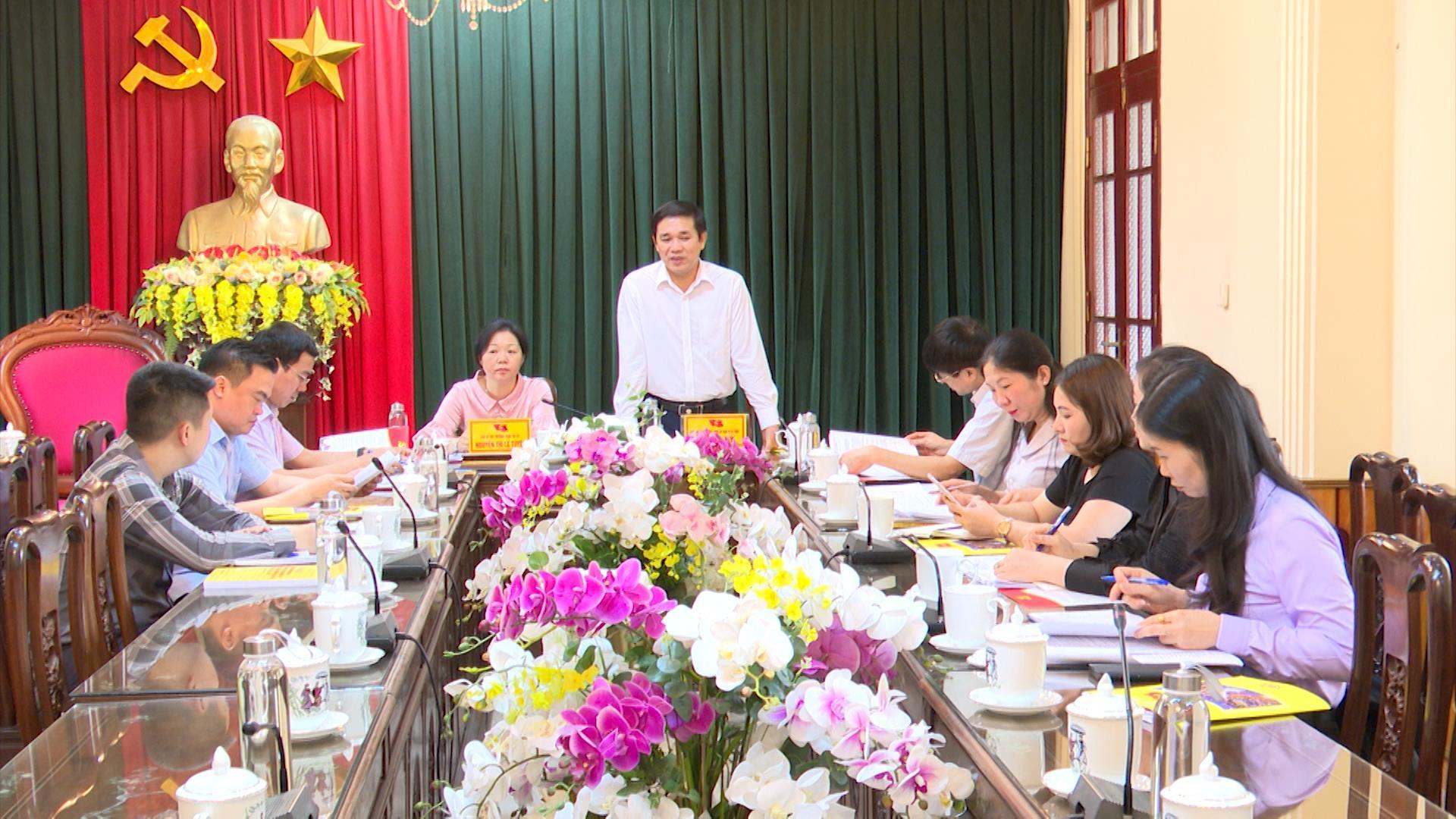 Ủy ban MTTQ tỉnh kiểm tra, giám sát công tác bầu cử tại Từ Sơn