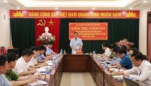 HĐND tỉnh giám sát công tác chuẩn bị bầu cử tại huyện Tiên Du