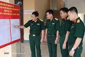 Quân khu 1 kiểm tra công tác chuẩn bị bầu cử tại Bộ Chỉ huy Quân sự tỉnh