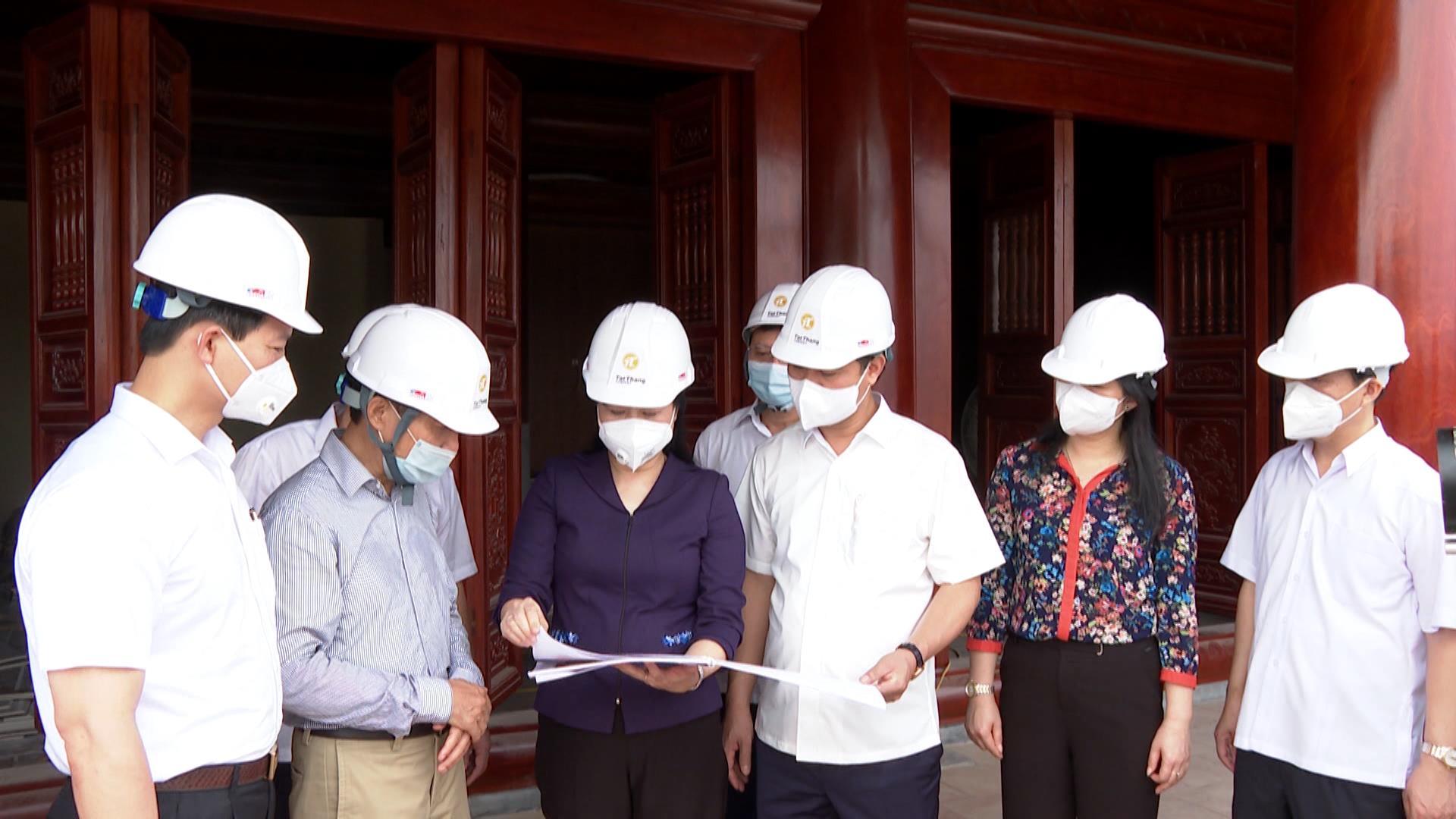 Bí thư Tỉnh ủy kiểm tra công tác chuẩn bị tổ chức Lễ kỷ niệm 100 năm Ngày sinh đồng chí Lê Quang Đạo