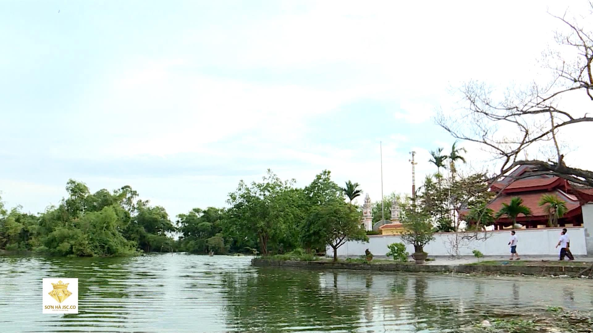 Vườn cò Đông xuyên, xã Đông Tiến, huyện Yên Phong