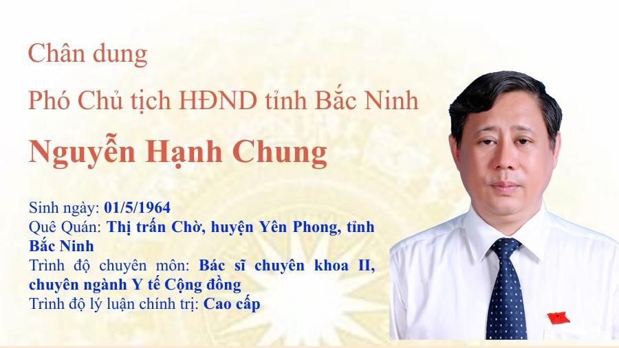 Chân dung Phó Chủ tịch HĐND tỉnh Nguyễn Hạnh Chung