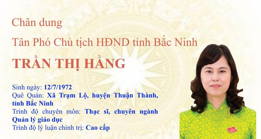 Chân dung tân Phó Chủ tịch HĐND tỉnh Trần Thị Hằng