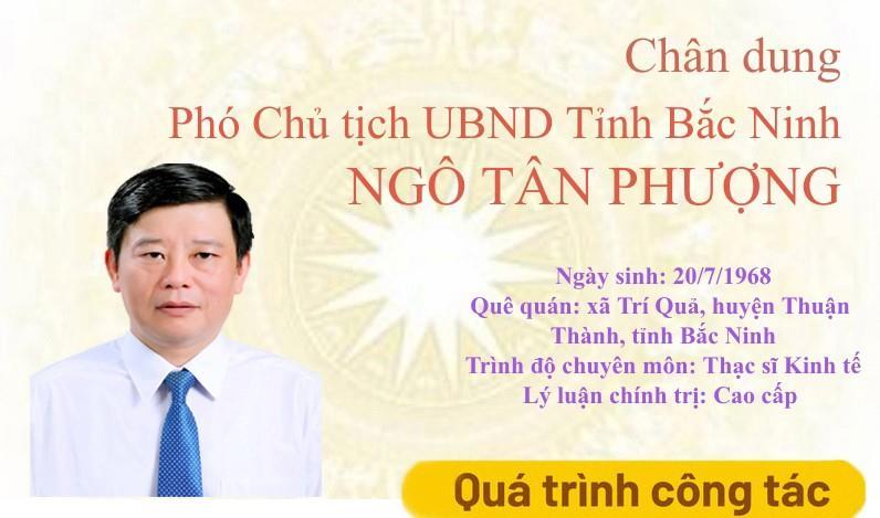 Chân dung Phó Chủ tịch UBND tỉnh Ngô Tân Phượng