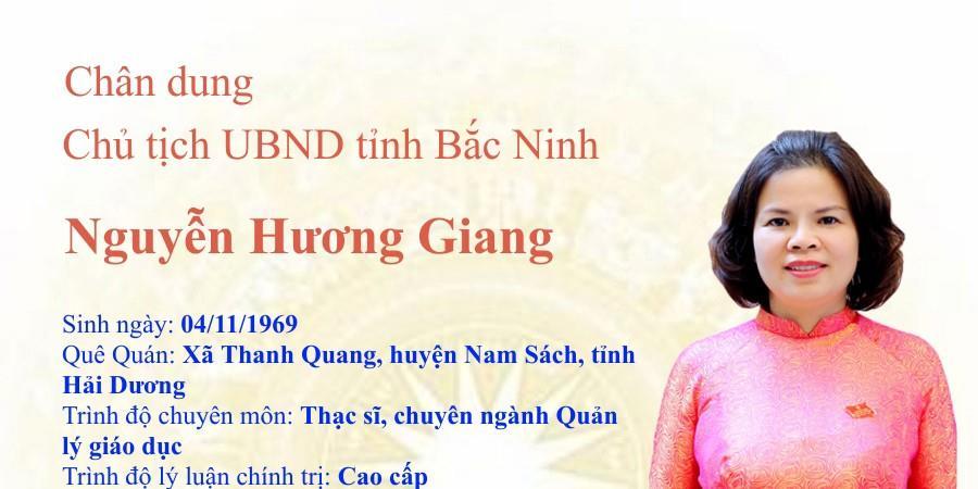 Chân dung Chủ tịch UBND tỉnh Nguyễn Hương Giang