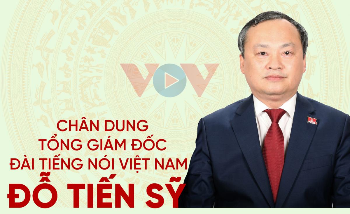 Chân dung Tổng Giám đốc Đài Tiếng nói Việt Nam Đỗ Tiến Sỹ