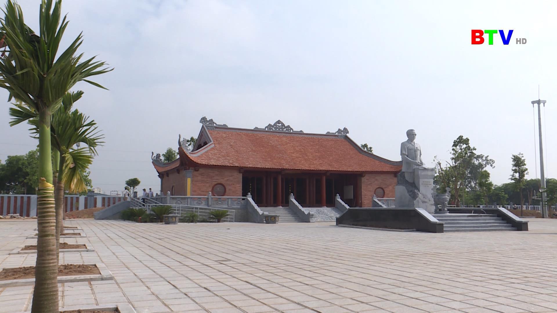 Công viên thị xã Từ Sơn và nhà lưu niệm đồng chí Lê Quang Đạo sẵn sàng phục vụ lễ  kỷ niệm