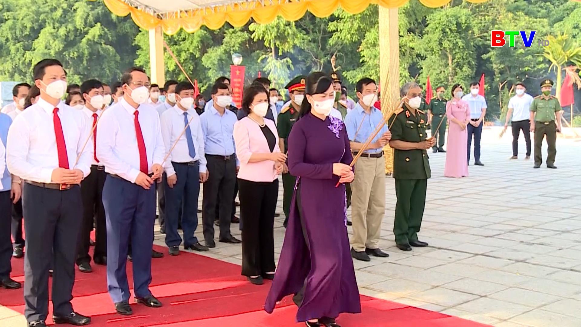 Dâng hương kỷ niệm 100 năm Ngày sinh đồng chí Lê Quang Đạo