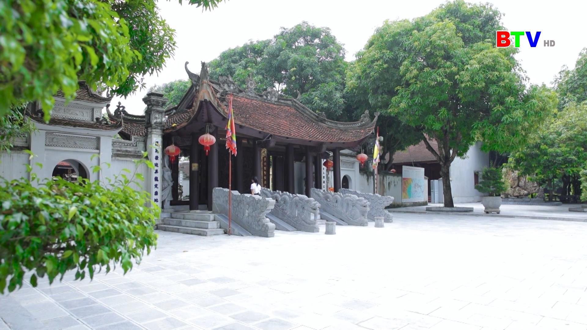 Quảng bá Đền thờ Thủy tổ vua bà