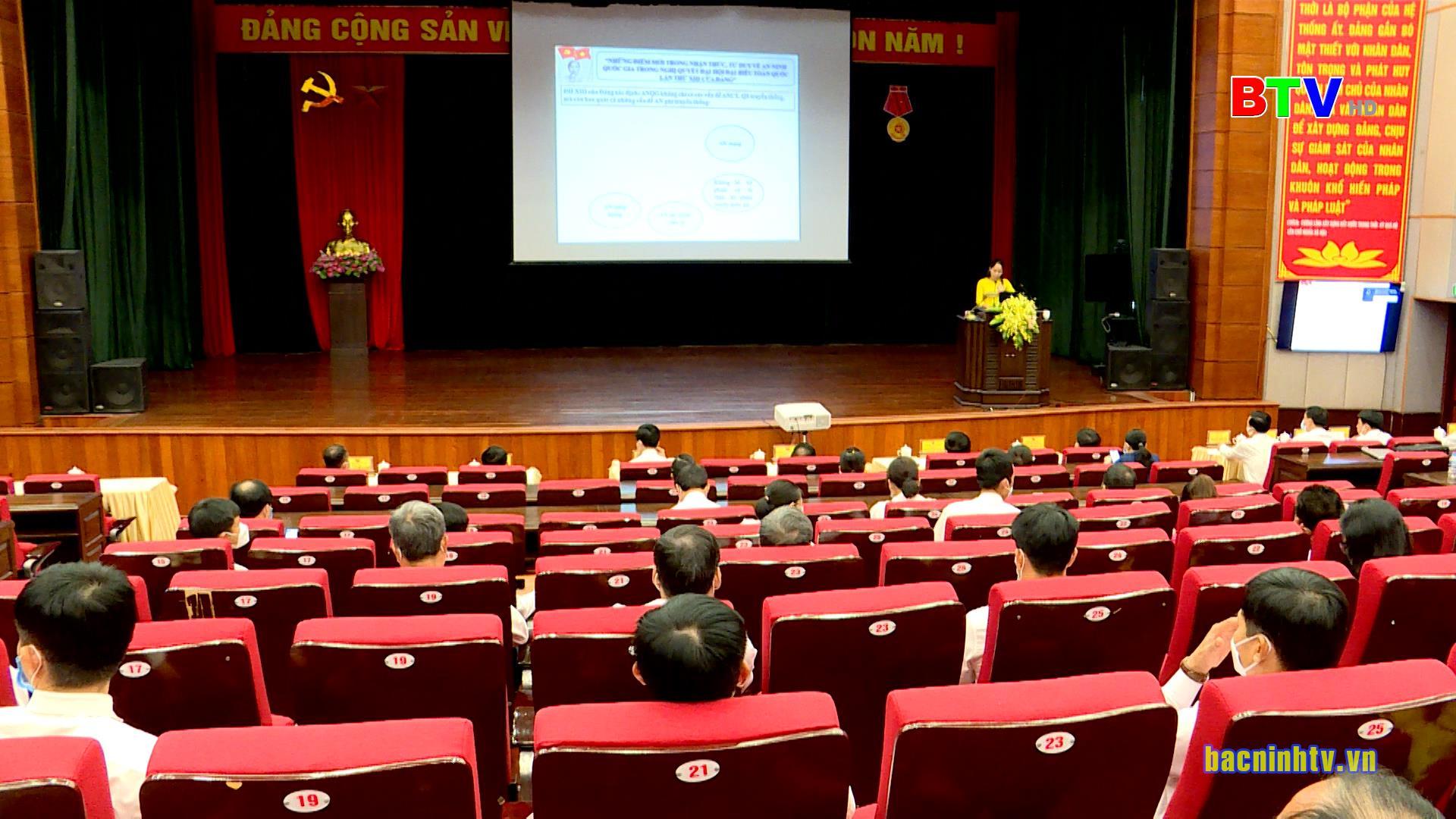 Hội thi Báo cáo viên giỏi huyện Quế Võ năm 2021