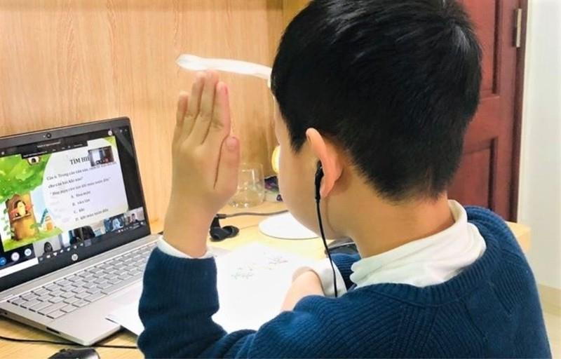 Học sinh Bắc Ninh khai giảng năm học mới bằng hình thức trực tuyến