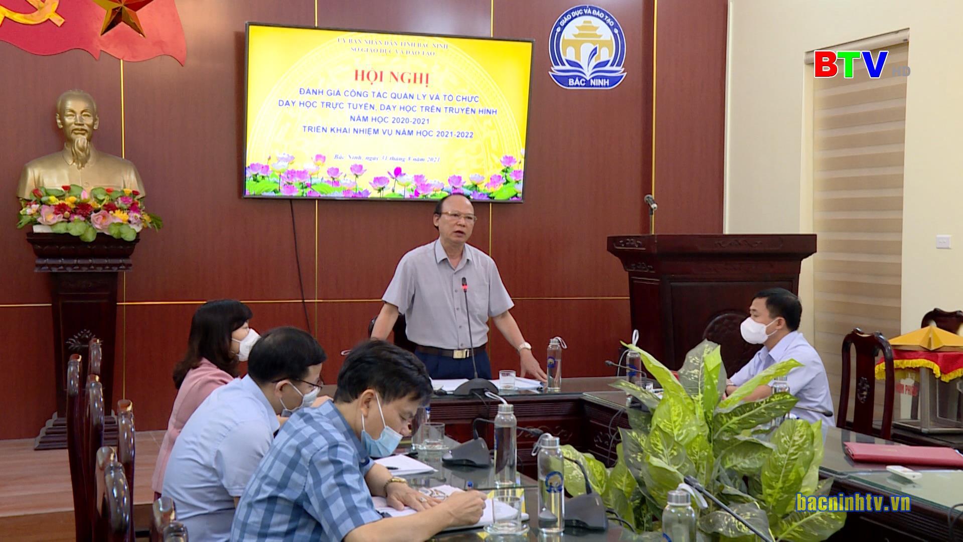 Sở Giáo dục và Đào tạo triển khai nhiệm vụ năm học 2021 – 2022