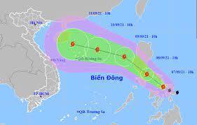 Tin bão gần Biển Đông (Bão Conson)