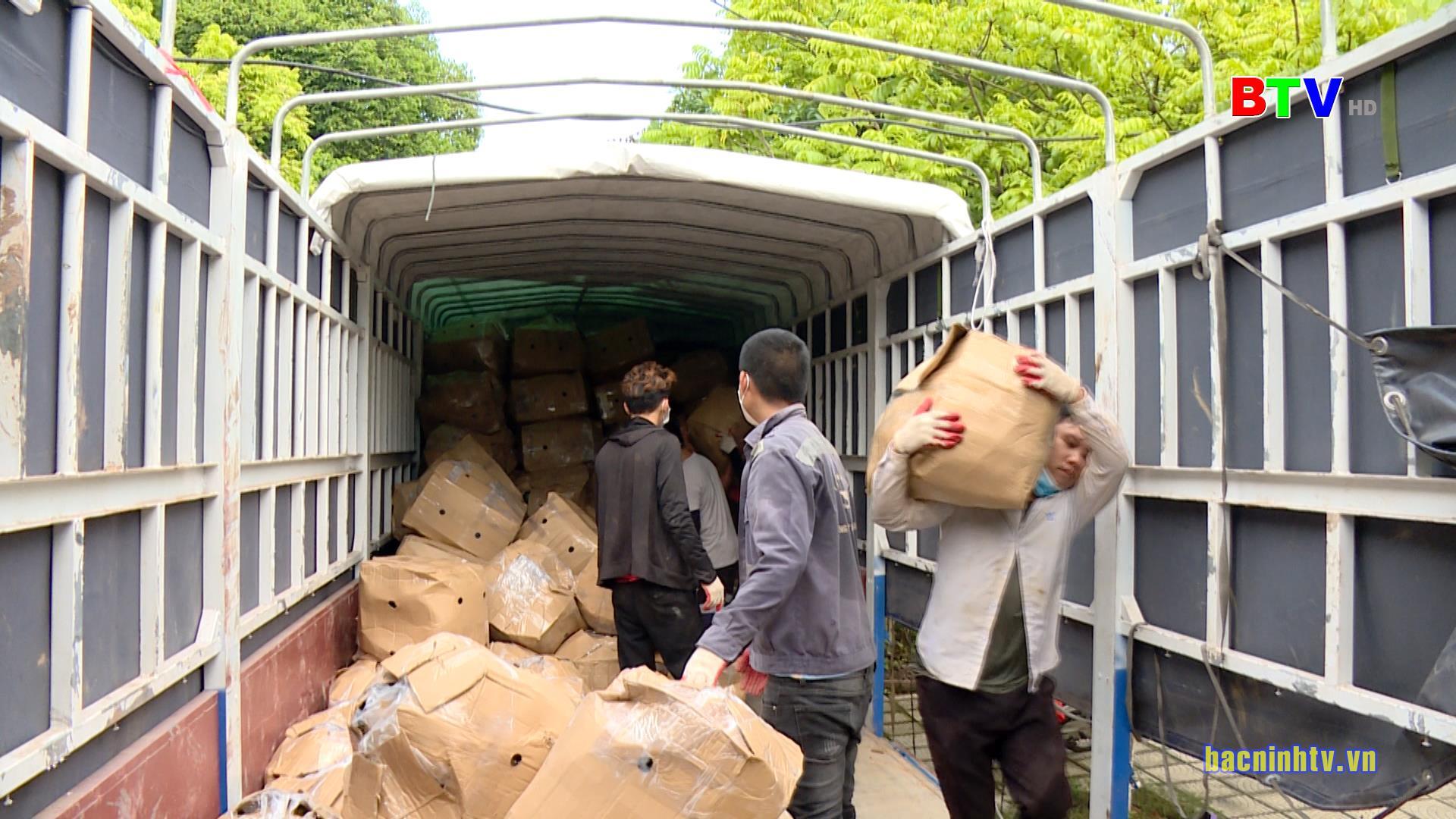 Phụ nữ Bắc Ninh hỗ trợ tiêu thụ nông sản cho tỉnh Đắk Lắc và Hà Tĩnh