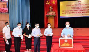 Bắc Ninh tiếp tục trích 3 tỷ đồng tiếp sức 5 tỉnh, thành phố phía Nam