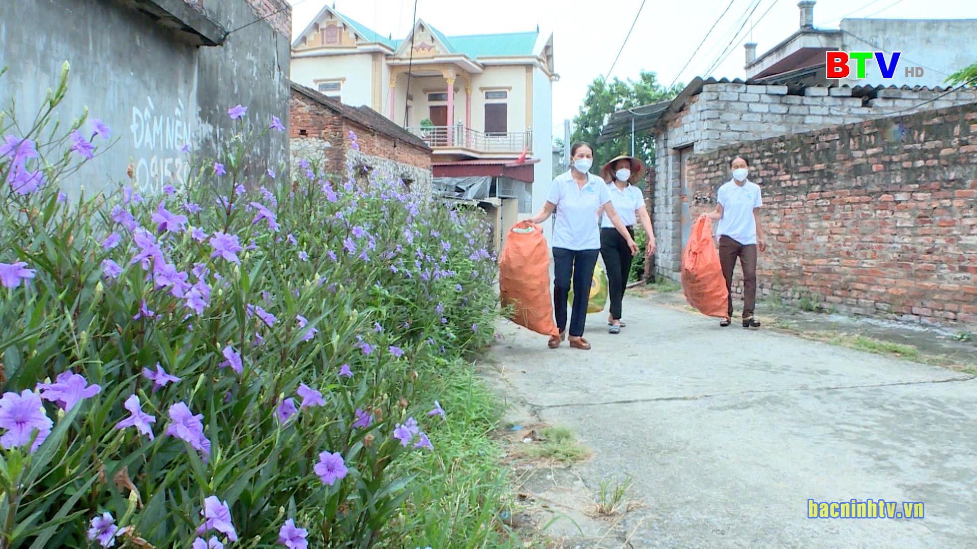 Phụ nữ Bắc Ninh chung tay bảo vệ môi trường