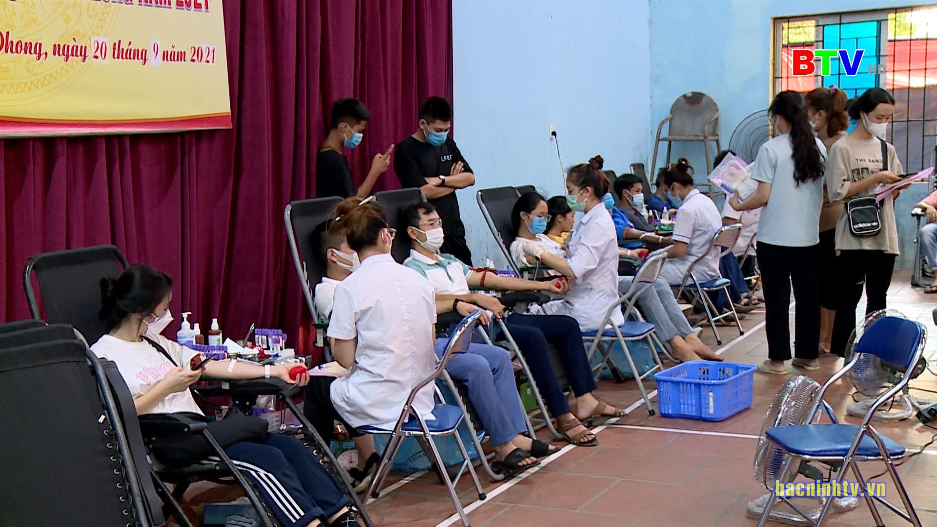 Ngày hội Hiến máu tình nguyện huyện Yên Phong năm 2021