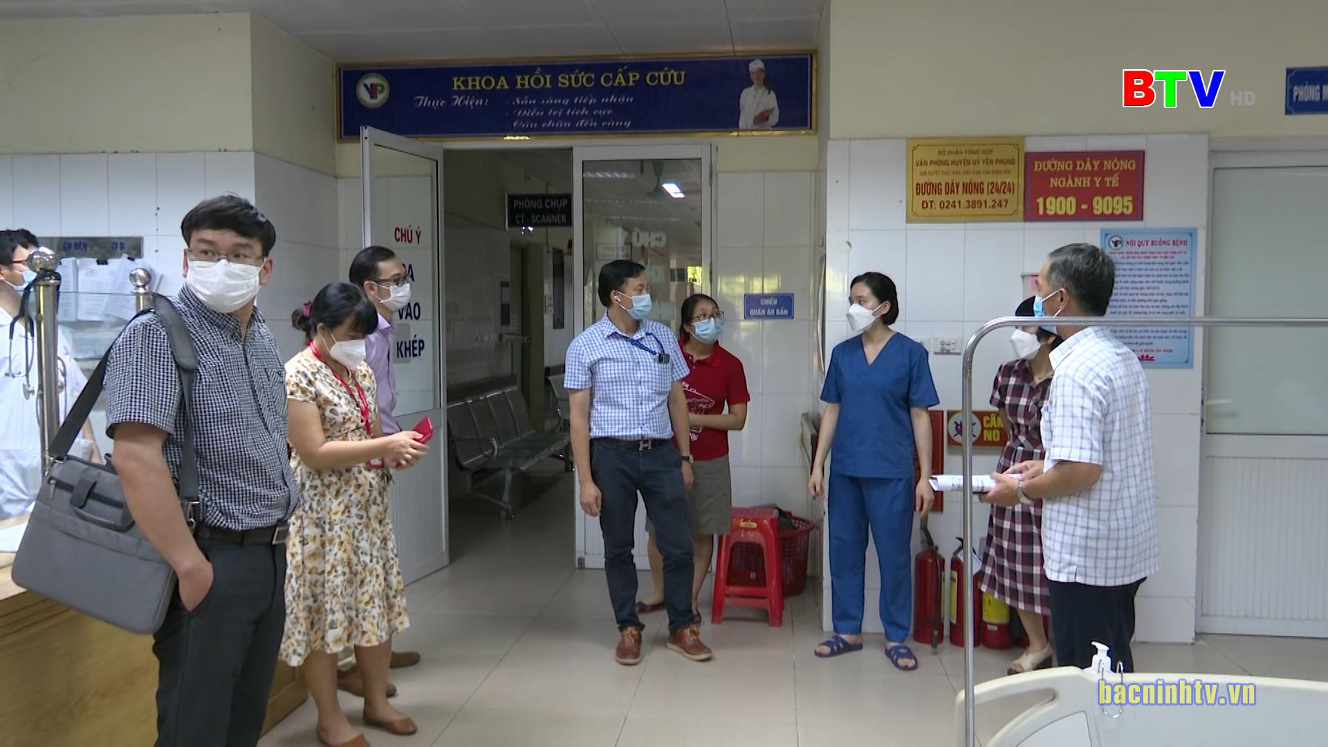 Thử nghiệm tiêm vắc xin phòng Covid-19 ARCT-154 tại Yên Phong