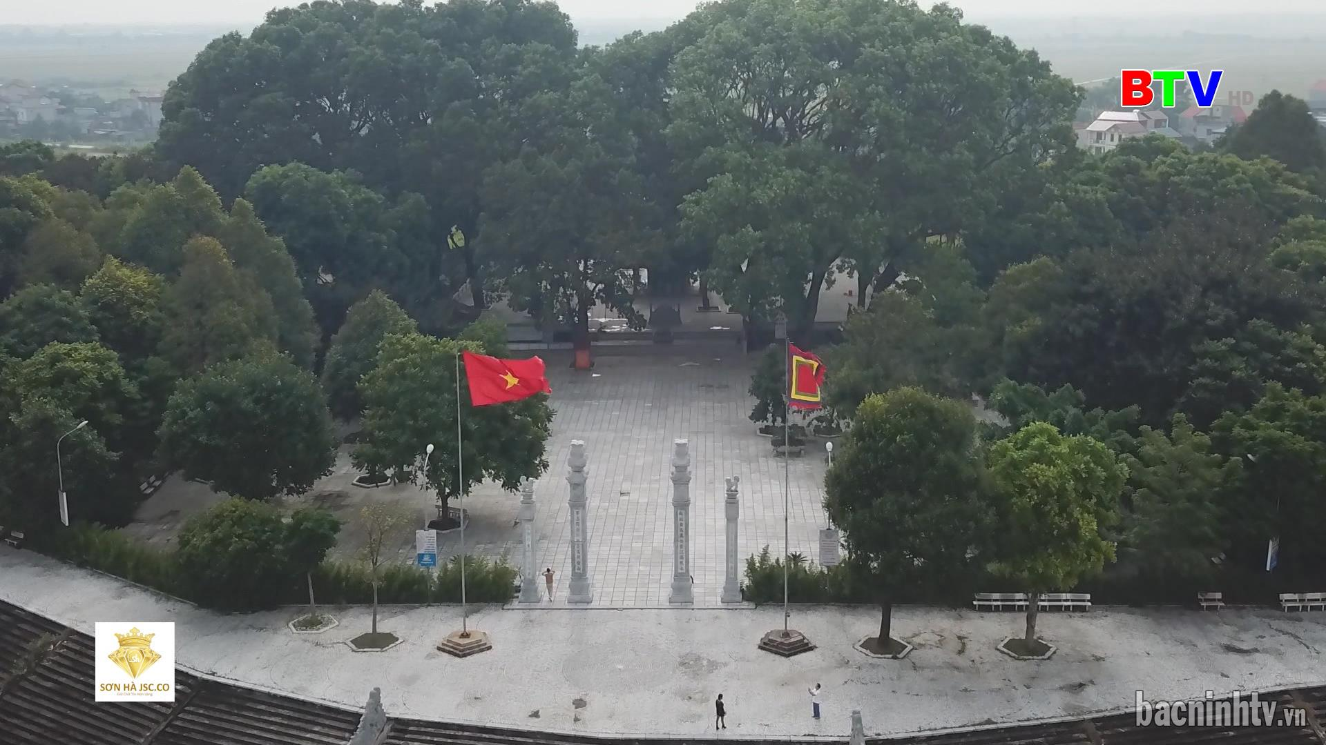 Đền thờ Lăng, Mộ Kinh Dương Vương