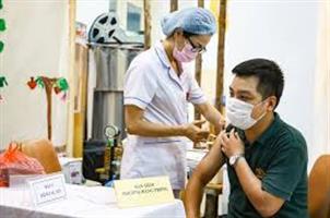 Hoàn thành tiêm 200 nghìn liều vắc xin Vercell