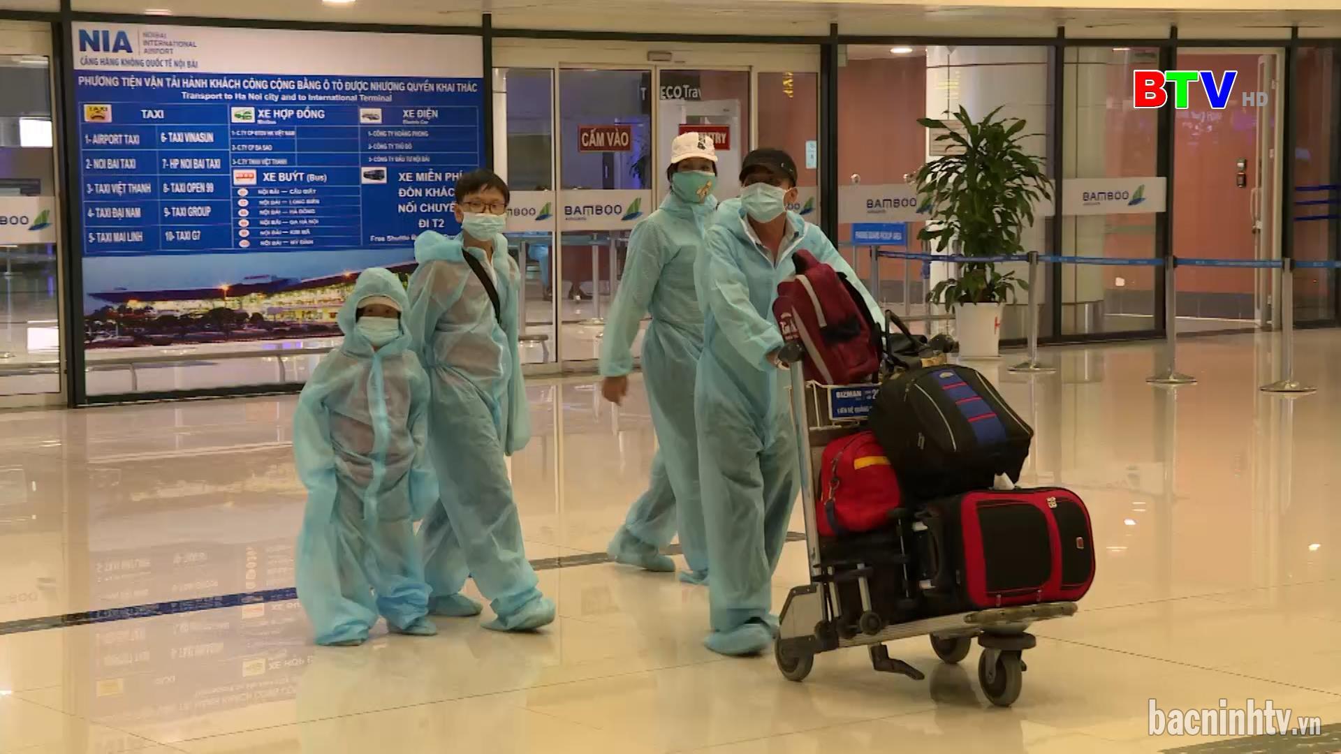 Lương Tài đón gần 200 công dân từ thành phố Hồ Chí Minh về địa phương.