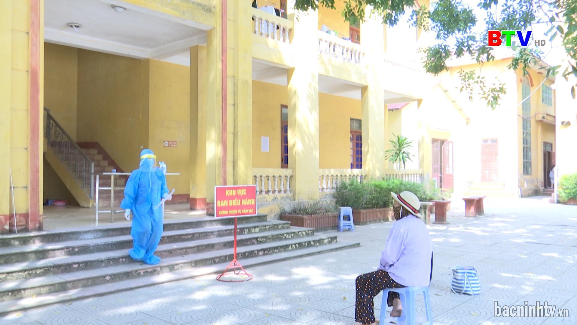 Đảm bảo cách ly an toàn người trở về từ vùng dịch tại huyện Gia Bình