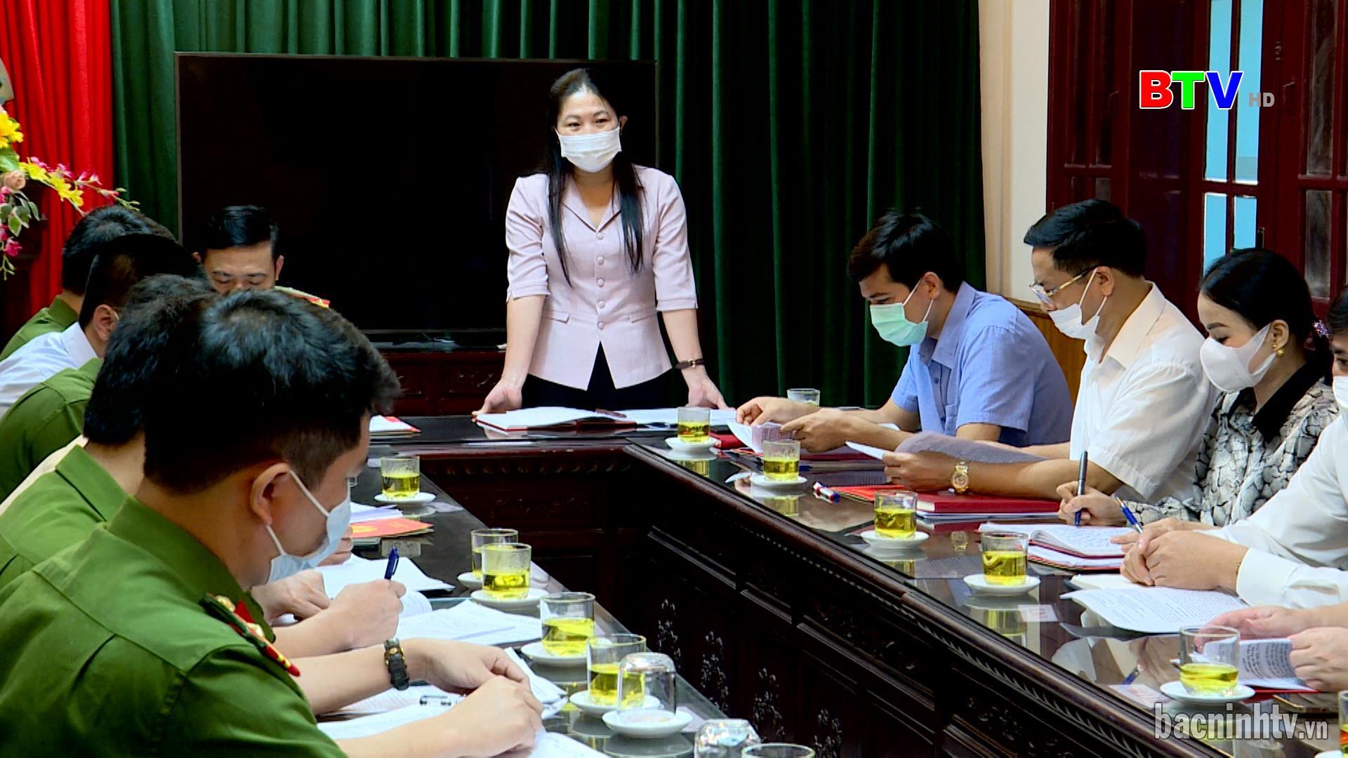 Ban Pháp chế HĐND tỉnh giám sát công tác đảm bảo  an ninh chính trị, trật tự an toàn xã hội