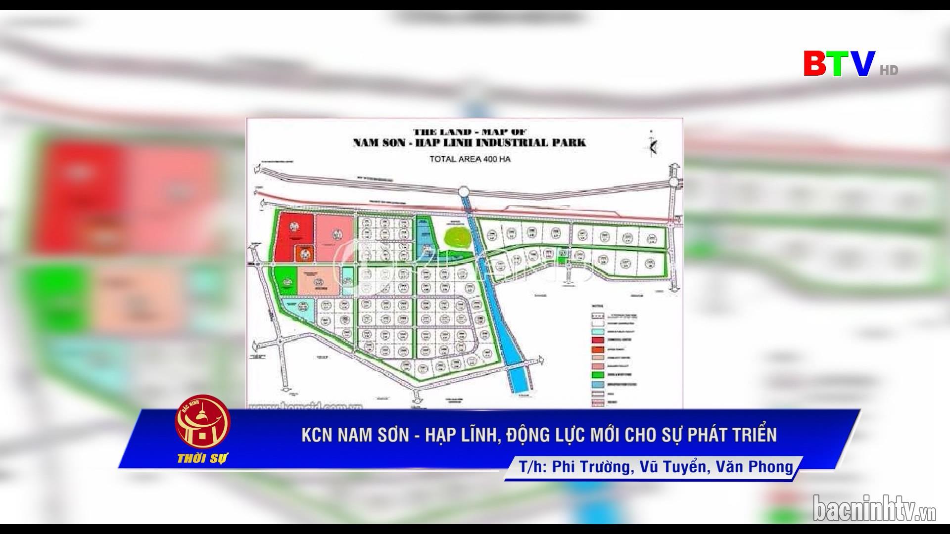 Khu Công nghiệp Nam Sơn, Hạp Lĩnh động lực mới cho sự phát triển