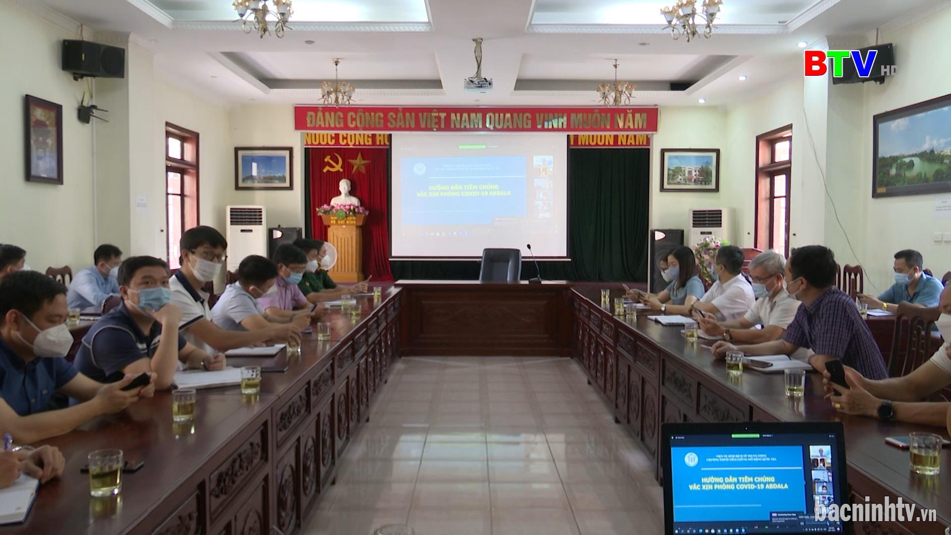 Bộ Y tế:  Hội thảo tập huấn trực tuyến về tiêm vắc xin phòng COVID-19