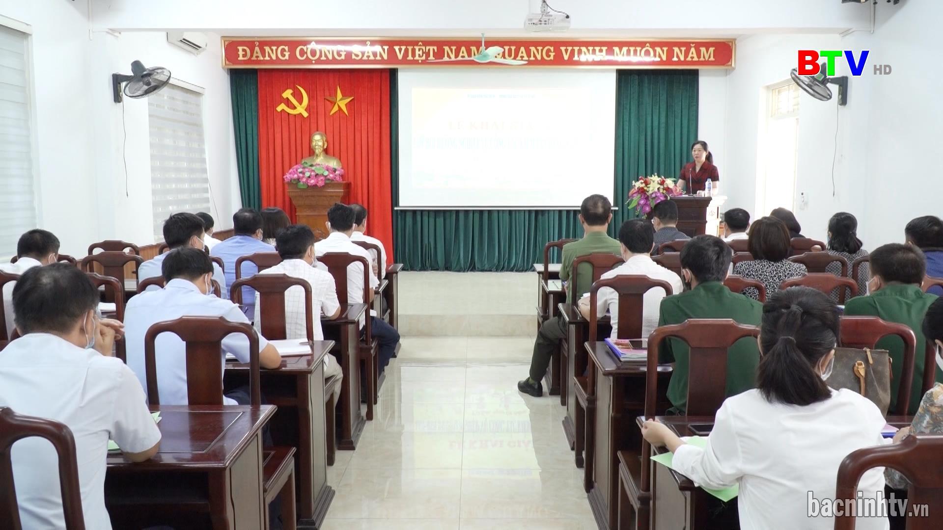 Từ Sơn khai giảng lớp bồi dưỡng nghiệp vụ kiểm tra Đảng năm 2021