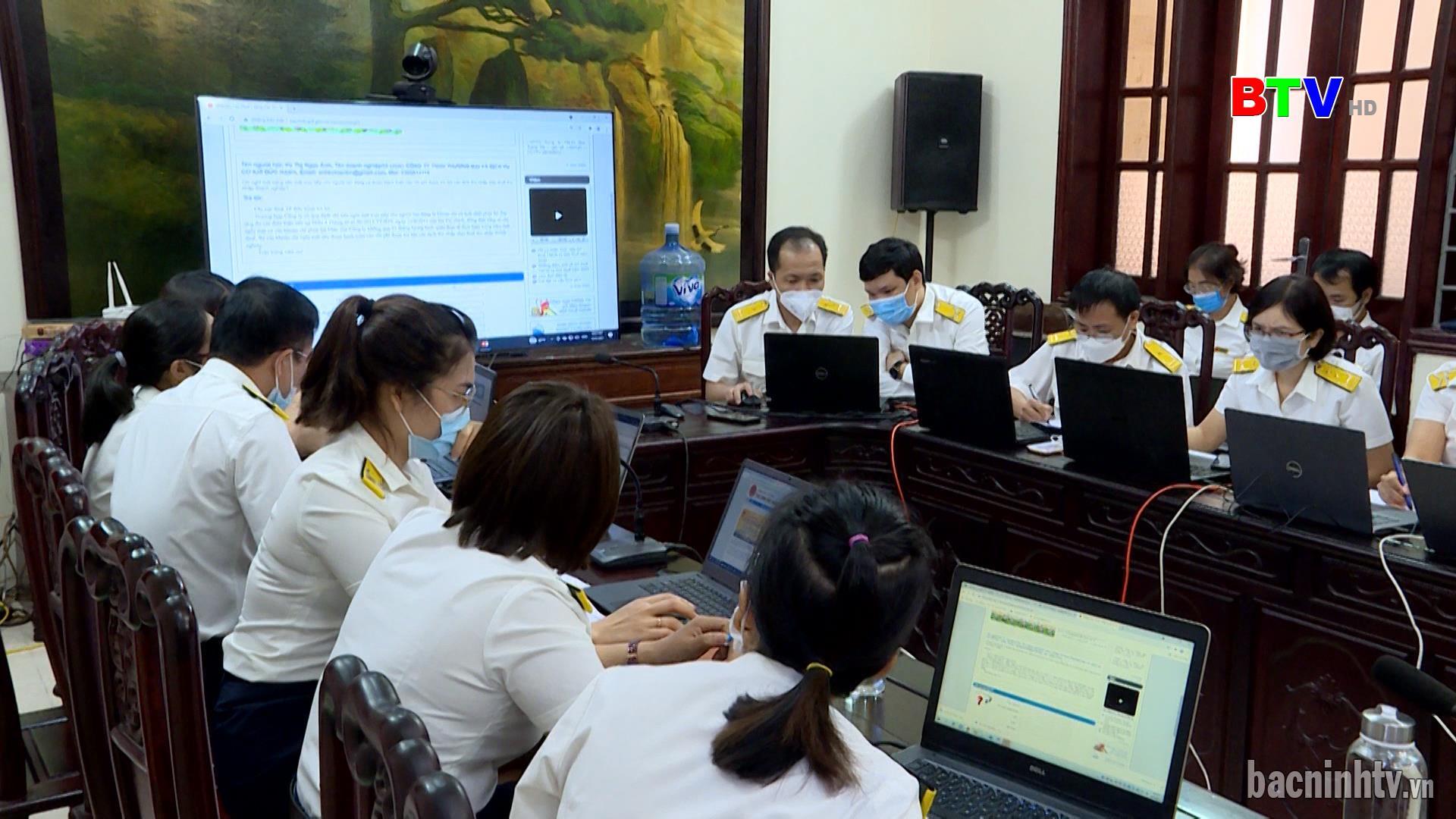 Hội nghị trực tuyến hỗ trợ giải đáp vướng mắc về chính sách thuế