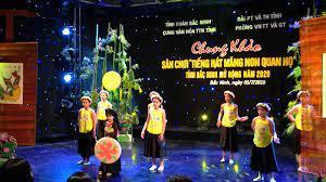 """Chung kết sân chơi """"Măng non Quan họ - Tiếng hát Họa mi"""" Bắc Ninh 2021"""