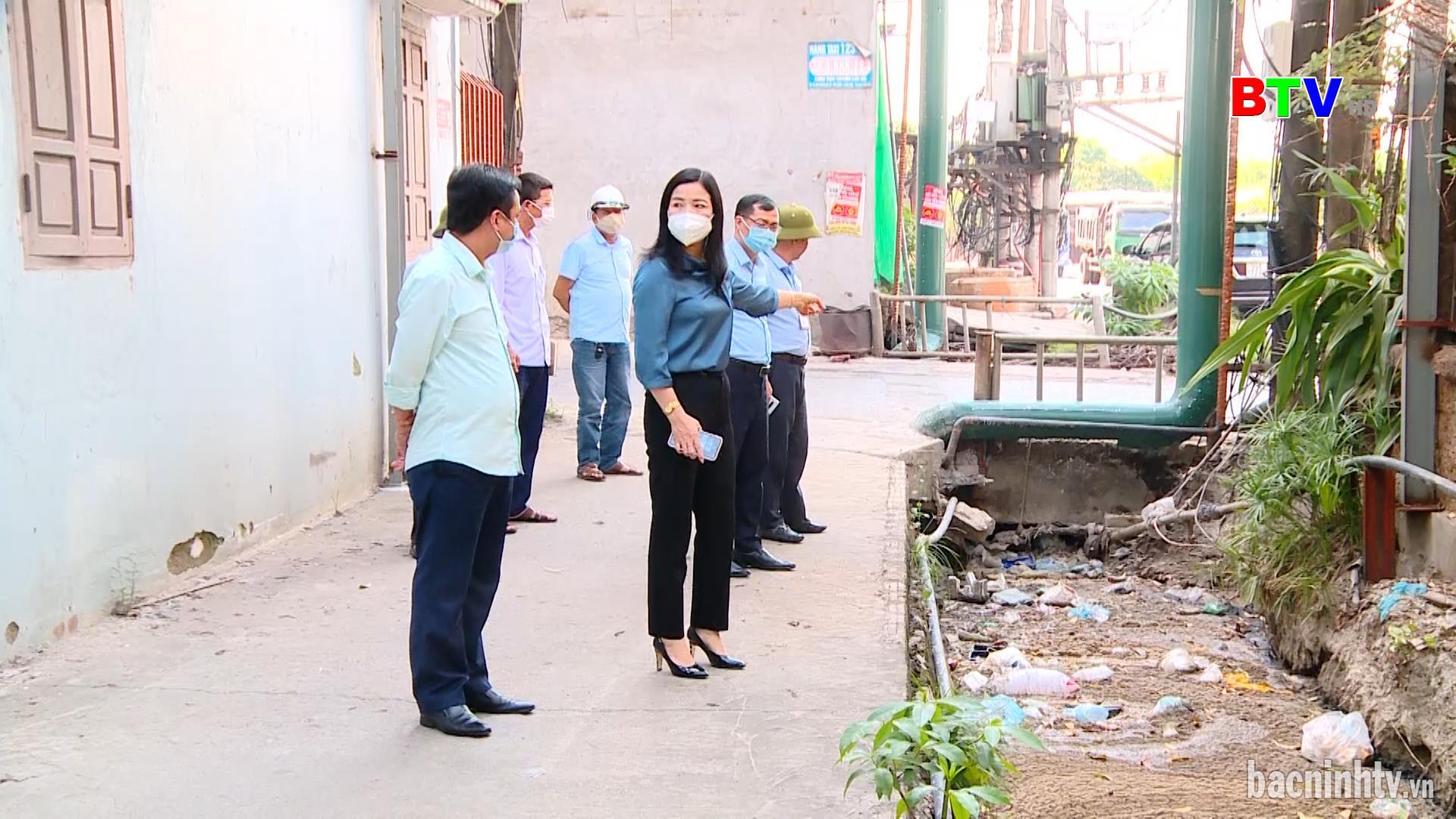 Hội đồng nhân dân thành phố Bắc Ninh giám sát thực hiện hợp đồng dịch vụ công ích