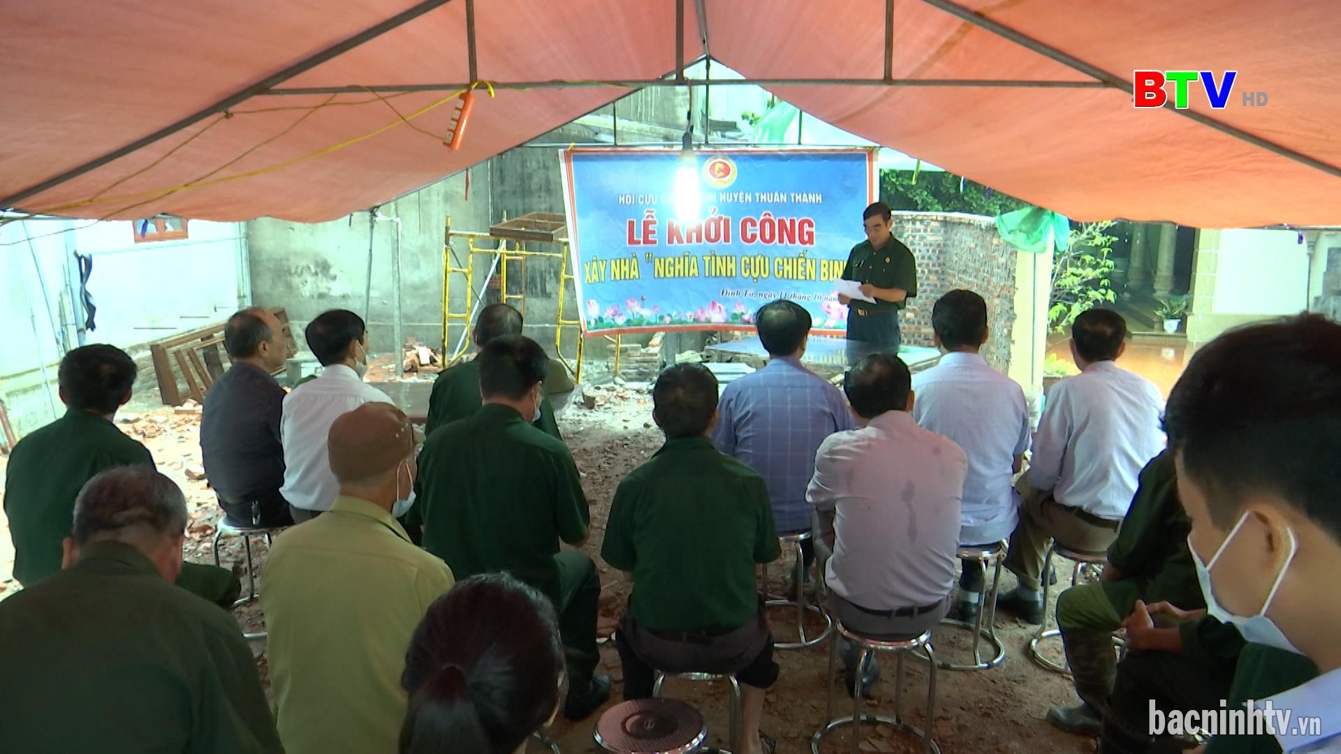 Đảng ủy Khối các Cơ quan và Doanh nghiệp khởi công xây nhà cho Hội viên Cựu chiến binh