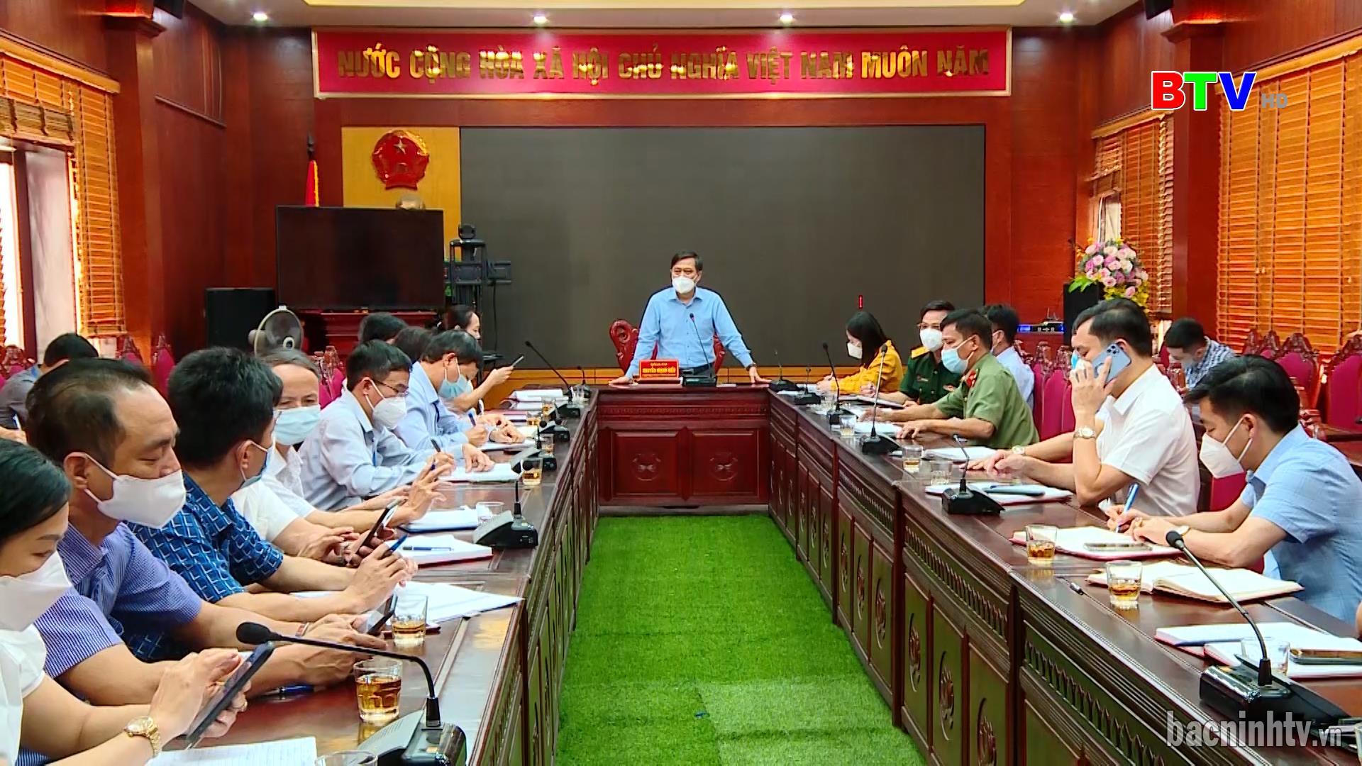 TP Bắc Ninh triển khai tiêm vắc xin phòng dịch Covid - 19 toàn dân