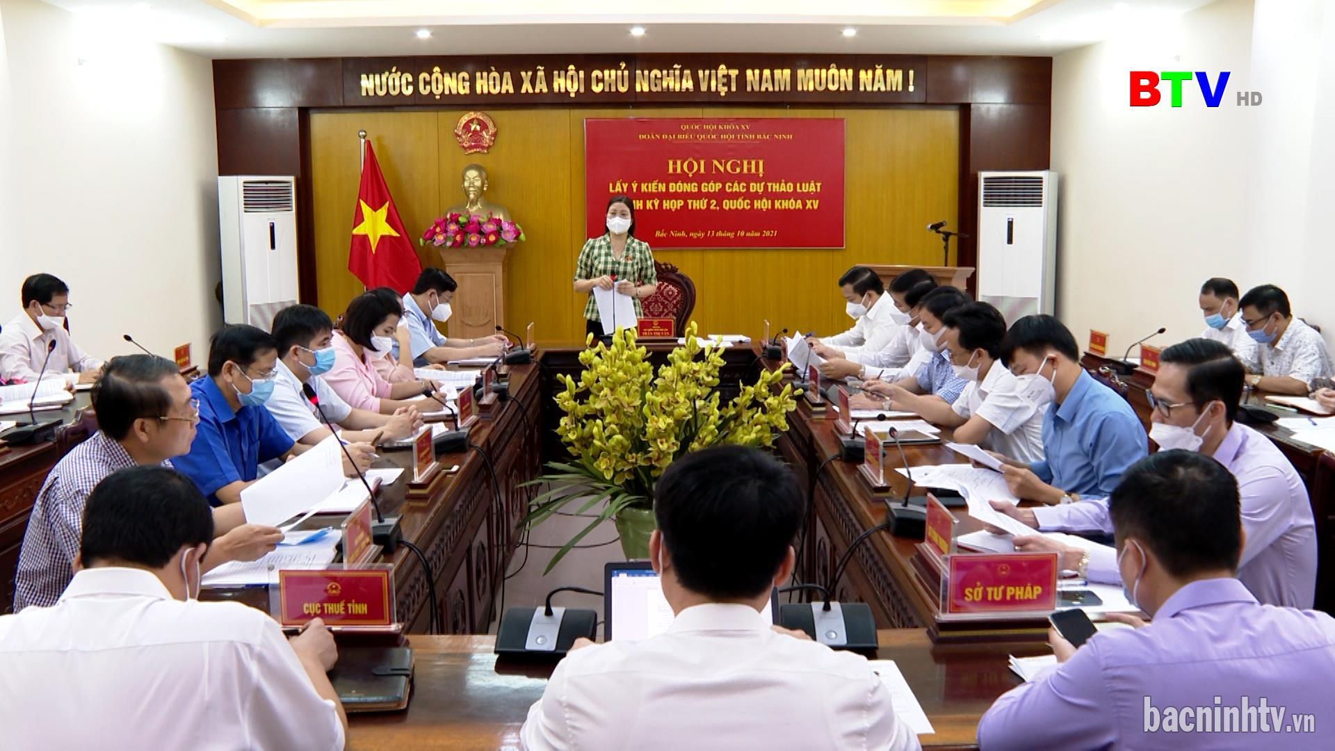 Đóng góp dự thảo Luật tại Kỳ họp thứ 2, Quốc hội khóa XV