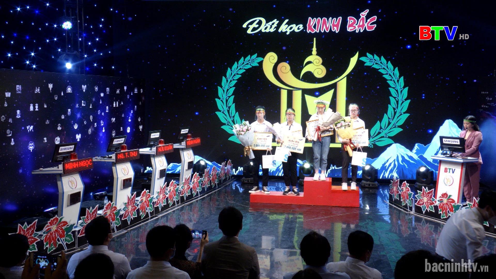 Chung kết Đất học Kinh Bắc năm học 2020 - 2021