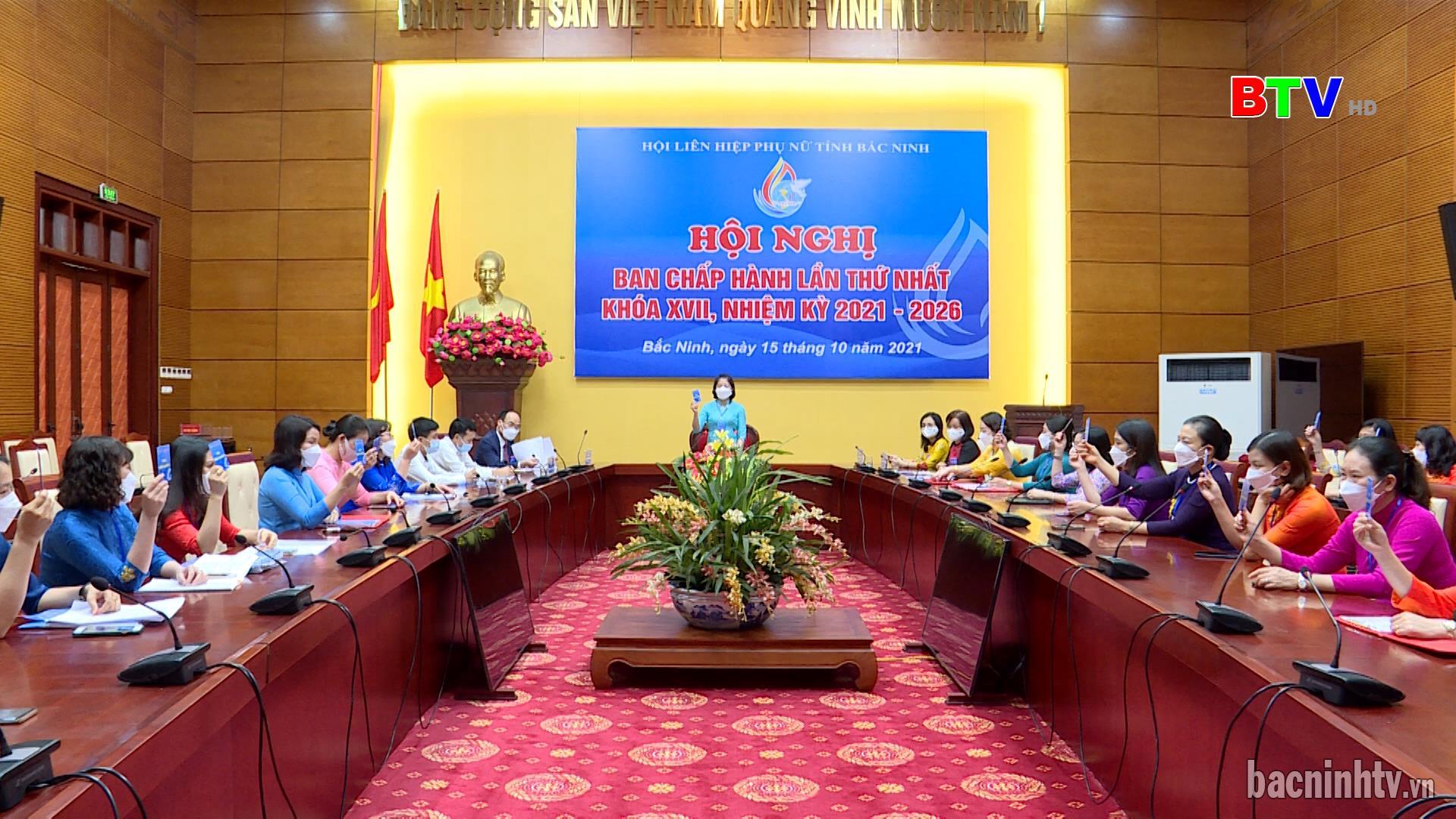 Kiện toàn các chức danh lãnh đạo Hội Liên hiệp Phụ nữ tỉnh